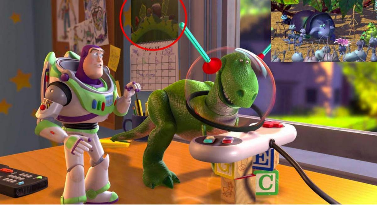 33 choses cach es dans les dessins anim s disney f noweb - Le cochon de toy story ...