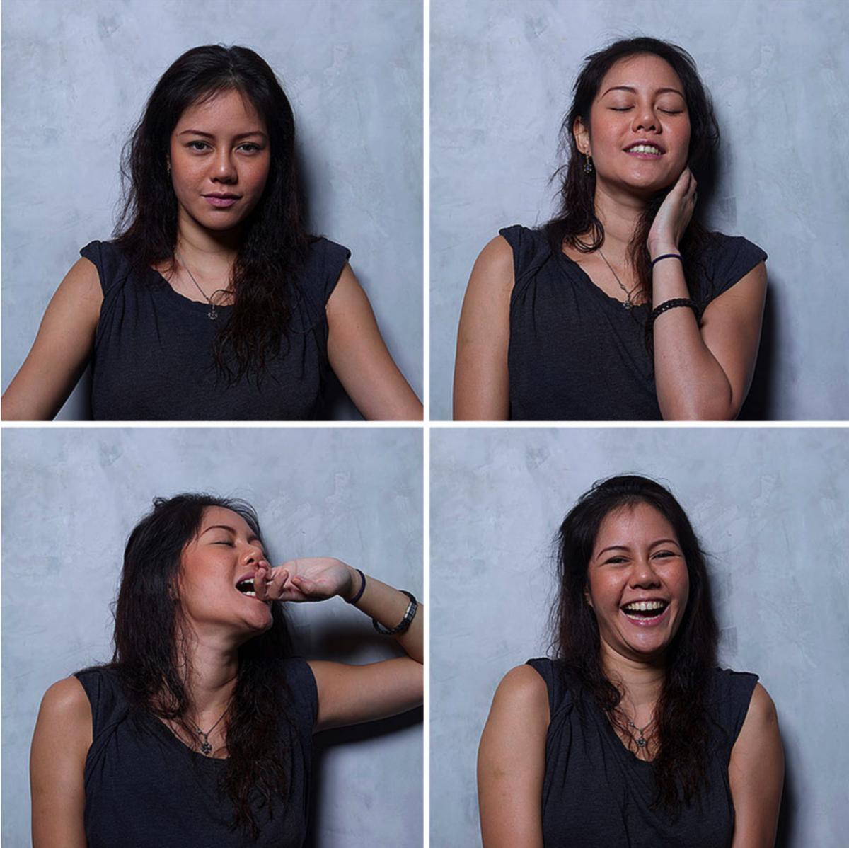 Les expressions faciales de lorgasme - Communication