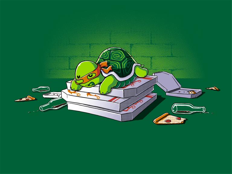 30 artwork d di s aux tortues ninja f noweb - Tortues ninja pizza ...