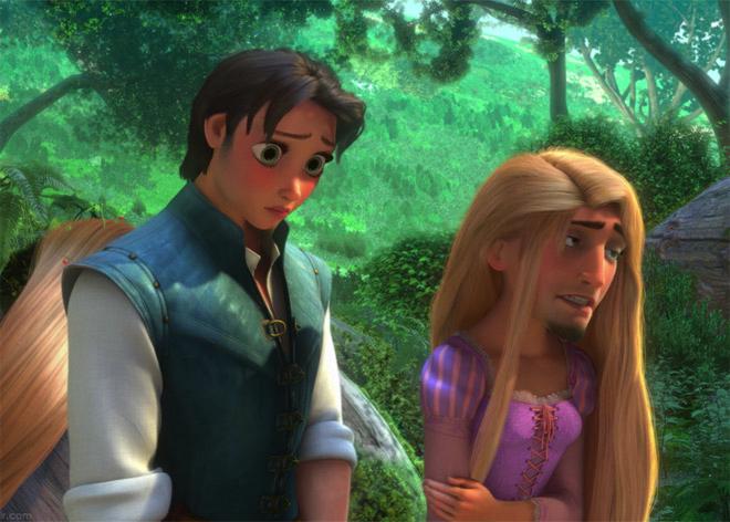Si Les Personnages Disney Utilisaient Face Swap Fenoweb