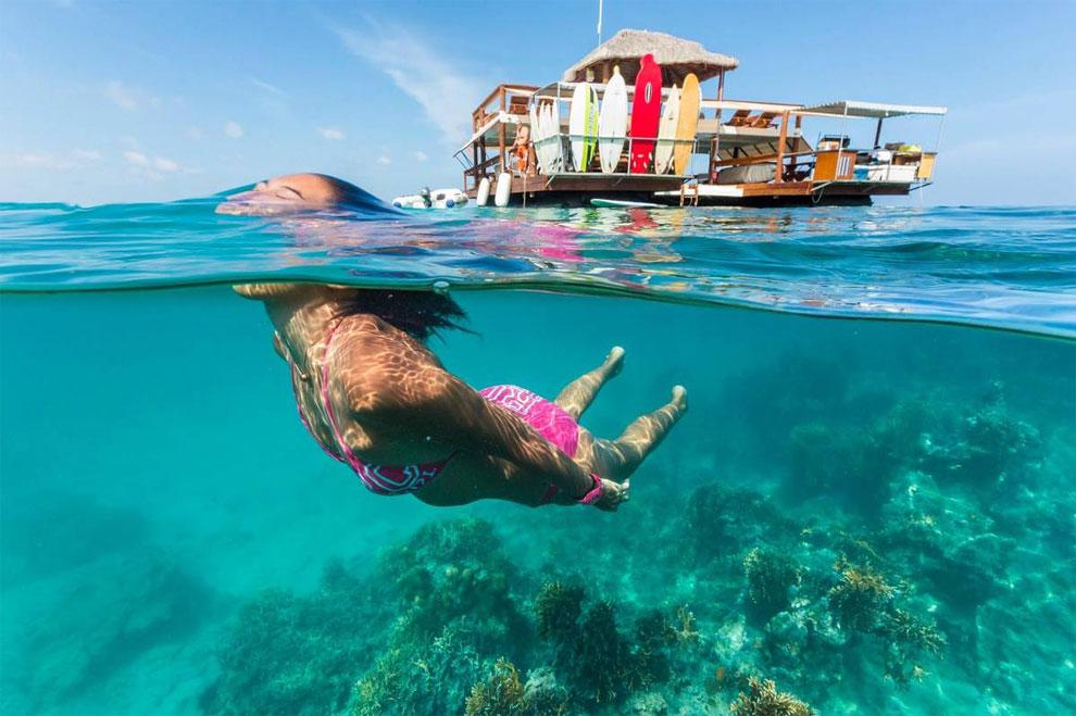 Best Off Beach Snorkeling Fiji