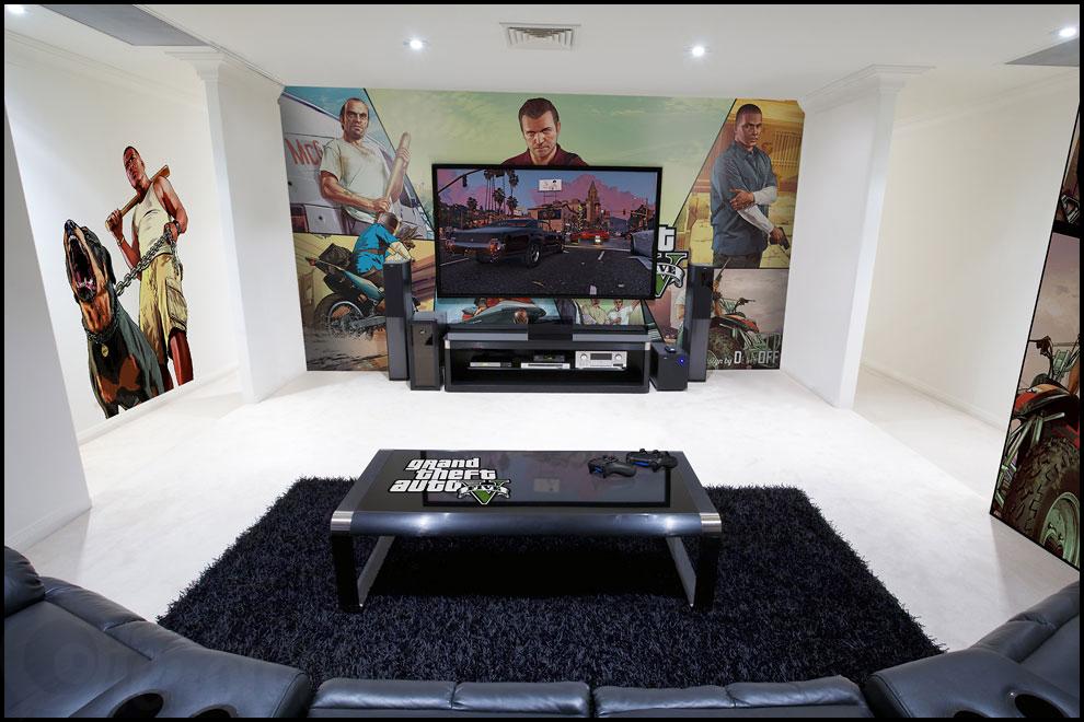 16 id es de d corations int rieurs pour passionn s de jeux vid os f noweb. Black Bedroom Furniture Sets. Home Design Ideas