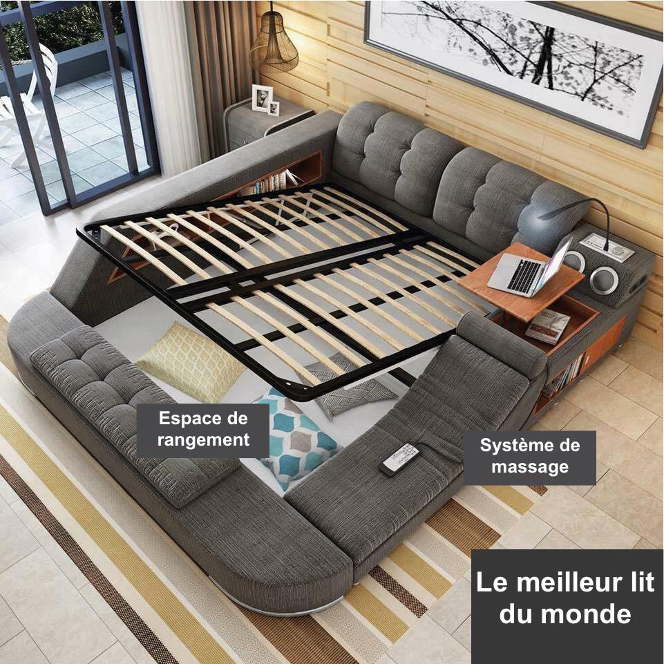 d couvrez le meilleur lit du monde f noweb. Black Bedroom Furniture Sets. Home Design Ideas