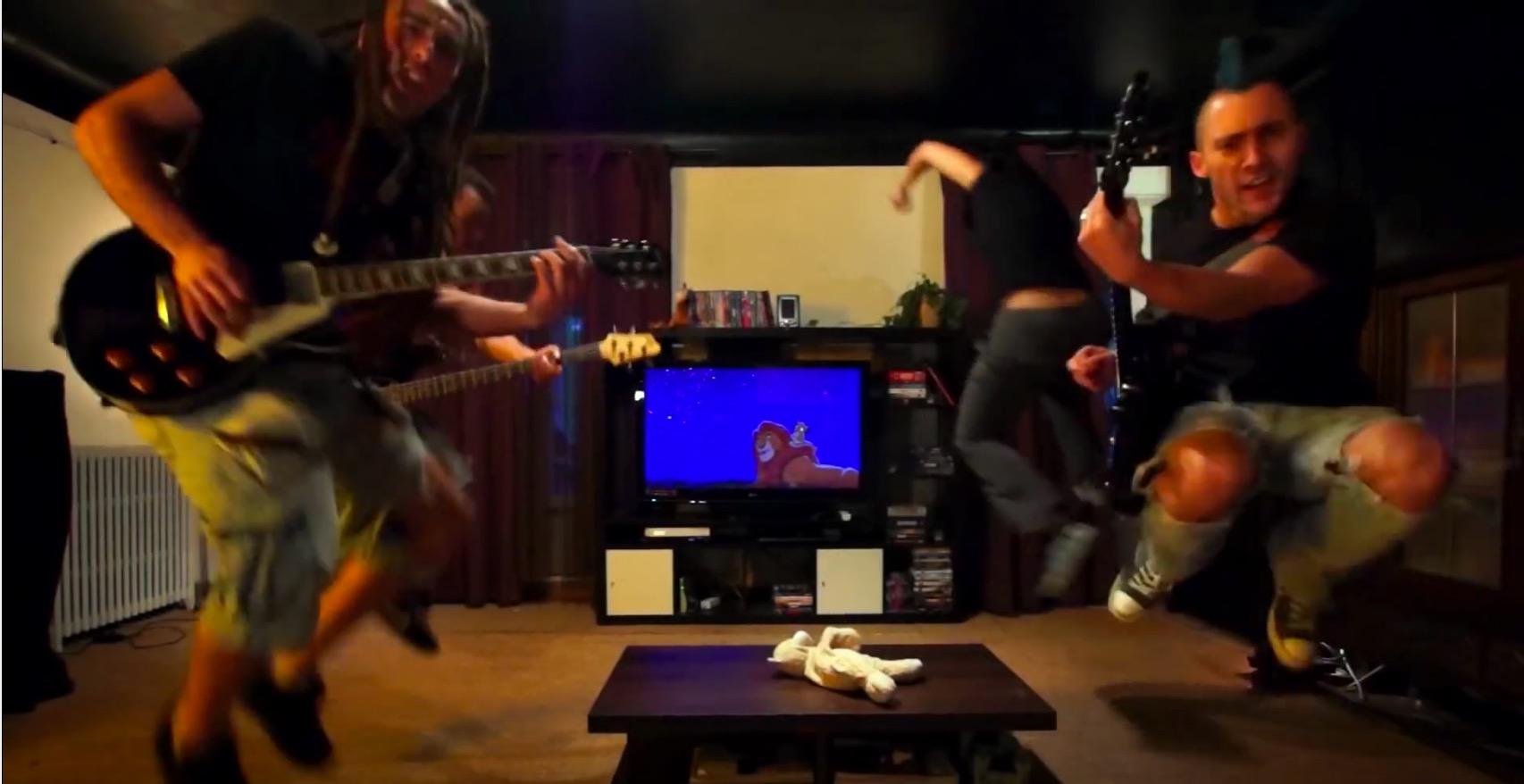 les chansons disney vf reprisent version rock f noweb. Black Bedroom Furniture Sets. Home Design Ideas
