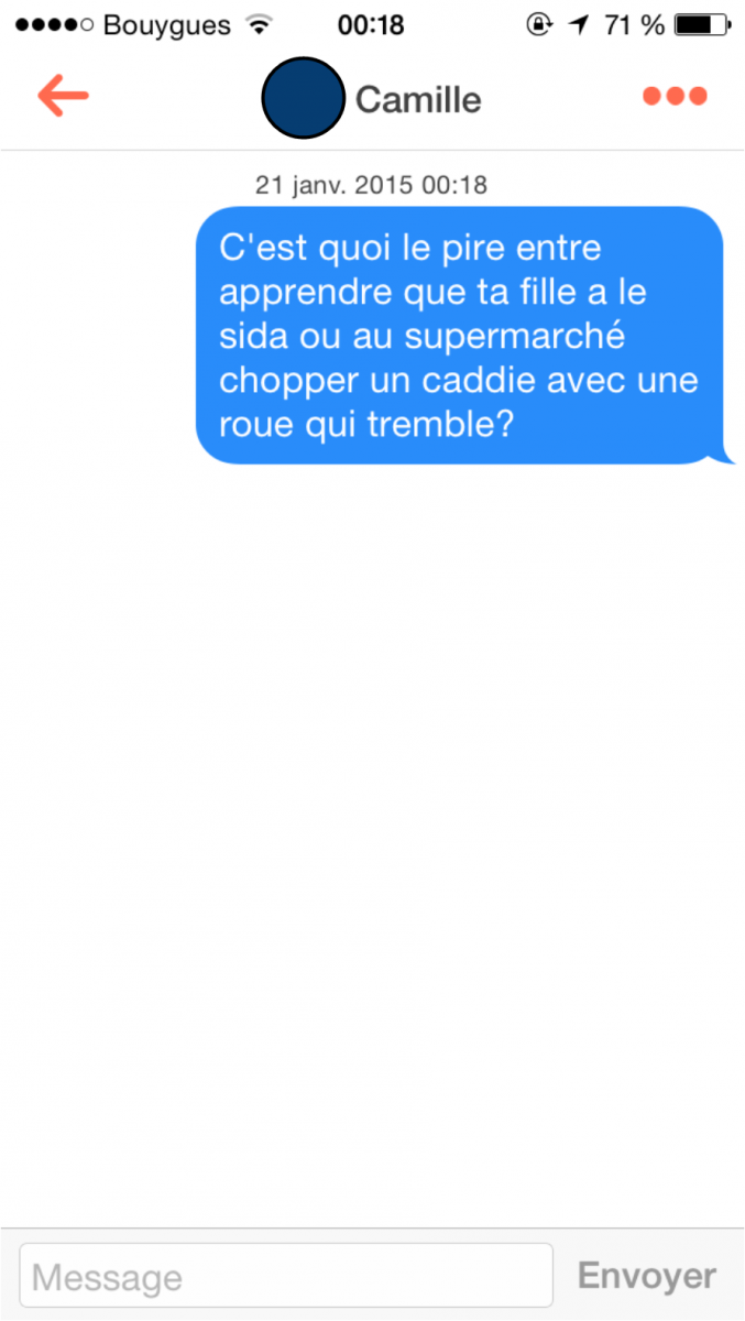 Application comme tinder
