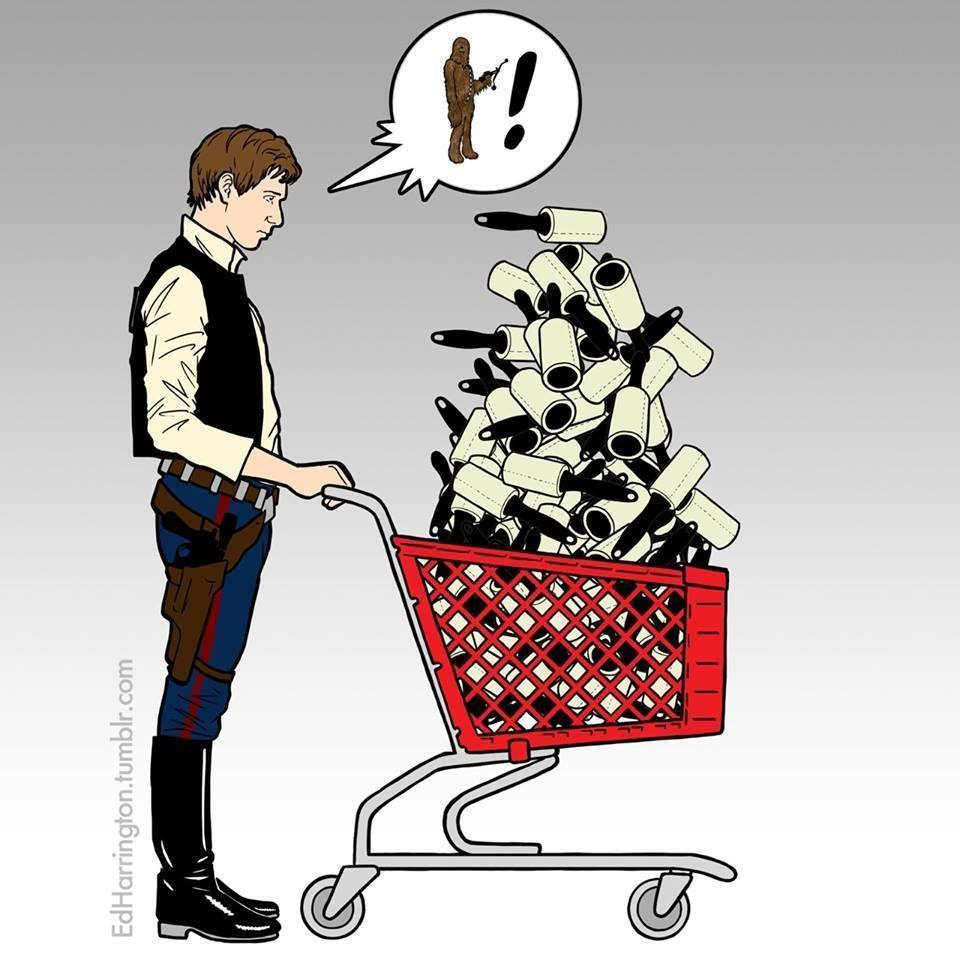 20 Images Humoristiques Star Wars En Attendant L Episode Vii Fenoweb