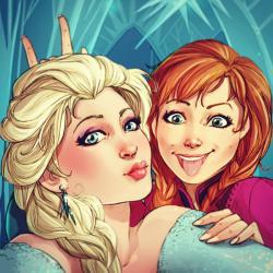 Si les personnages Disney avaient un compte Instagram