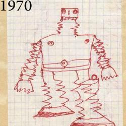 15 comparaisons de dessins montrant l'évolution de l'artiste