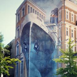 Quand l'effet d'optique s'invite dans le street-art