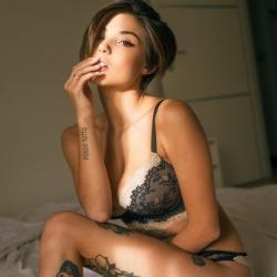 40 femmes tatouées et incroyablement sexy #001