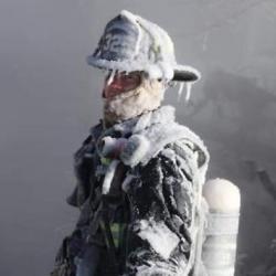 Les images impressionantes des États-Unis sous la glace