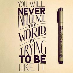 Le stylo Micron, à la pointe de la calligraphie