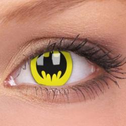 Amazing geek contact lenses! (Batman, Twilight, Naruto)