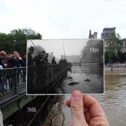 Les crues à Paris c'est chiant, mais ça fait des belles photos