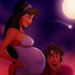 Les princesses Disney si elles étaient mamans