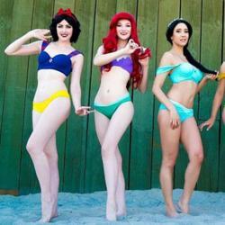Cet été portez le bikini de votre princesse Disney préférées