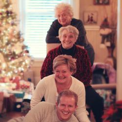 Le choc des générations avec de magnifiques photos de famille