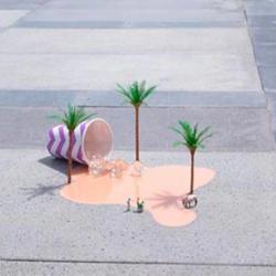 Du street-art miniature dans les rues de Dubaï