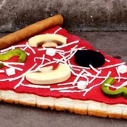 Quand de la nourriture géante s'invite dans les rues (Street-art)