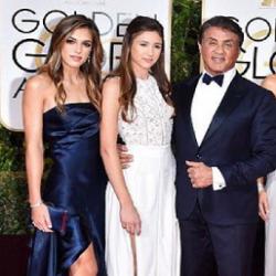Découvrez le visage des sublimes filles de Sylvester Stallone