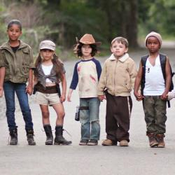 The Walking Dead version enfants