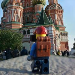Quand les personnages Lego partent en vacances