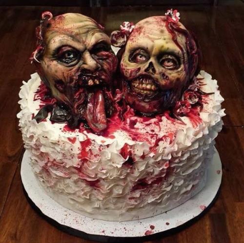Top 15 des gâteaux flippants et répugnant pour Halloween