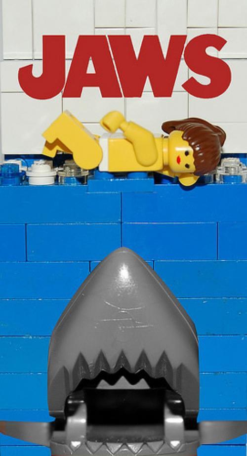 22 affiches de film en LEGO