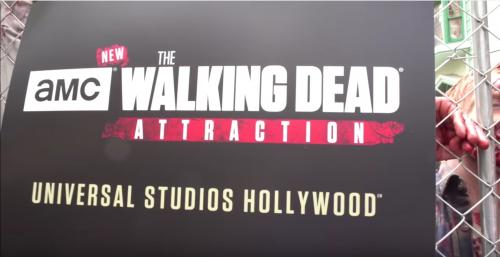 Découvrez l'attraction The Walking Dead de Universal Studio en vidéo