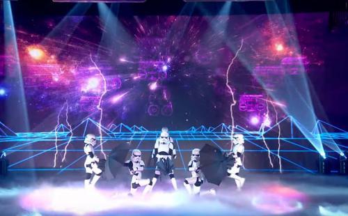 Les danseurs stormtroopers remettent ça !