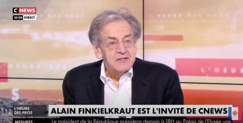 Le gros bug d'Alain Finkielkraut en plein direct sur Cnews