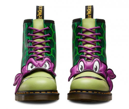 Dr. Martens crée les chaussures Tortues Ninja pour les fans invétérés