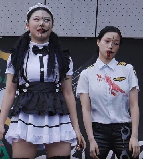 Chorégraphie de Zombies
