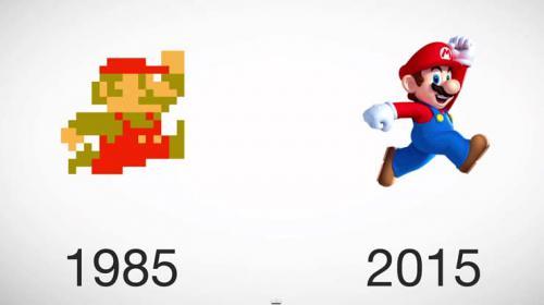 L'évolution des personnages dans les jeux vidéo