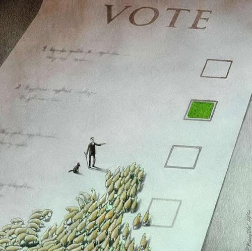 Les illustrations de Pawel Kuczynski qui dénoncent