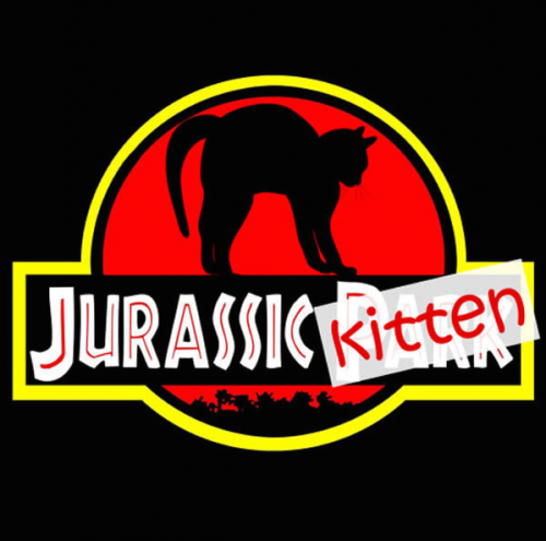 Jurassic Kitten : pour les fans de chatons et de Jurassic Park