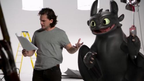 Pour la sortie de Dragon 3 Kit Harington auditionne avec Krokmou