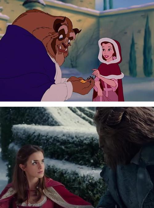 La Belle et la Bête le film sera fidèle au dessin animé (Images)