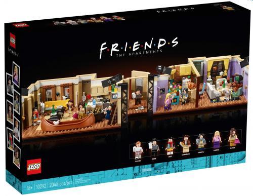 LEGO : une reproduction fidèle des appartements de Friends