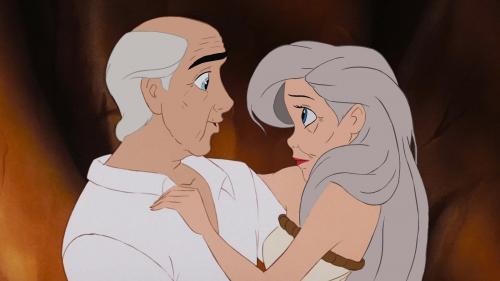 Quand les couples Disney vieillissent ensemble