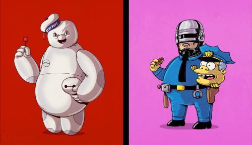 50 personnages de bandes dessinées tombent le masque (PART 2)