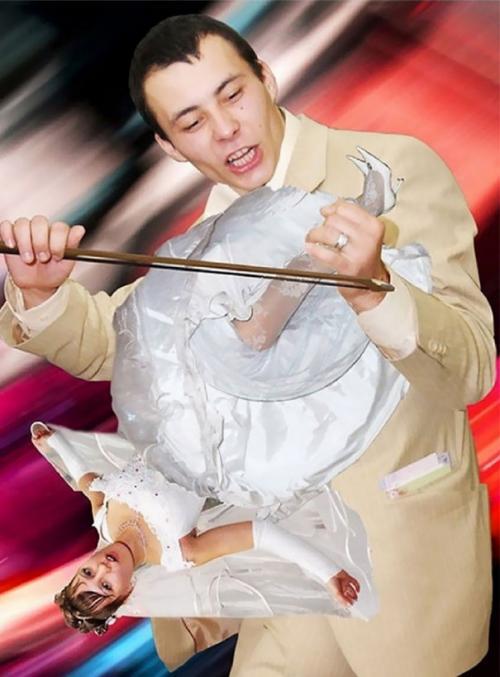 Les pires photos de mariage jamais réalisées