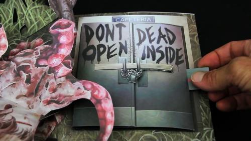Découvrez le livre animé de la série The Walking Dead