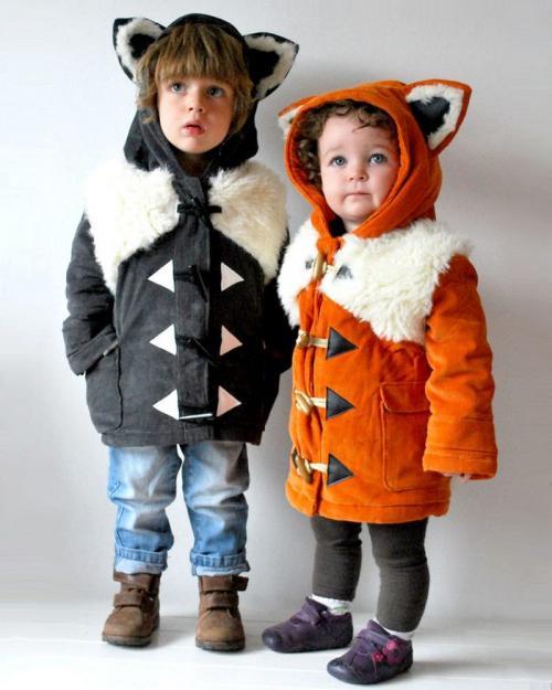 Des manteaux pour enfants qui vont vous faire craquer