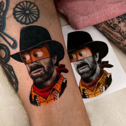 Quand les styles se mélanges au sein d'un même tatouage