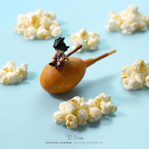 Les oeuvres miniatures de Tanaka Tatsuya