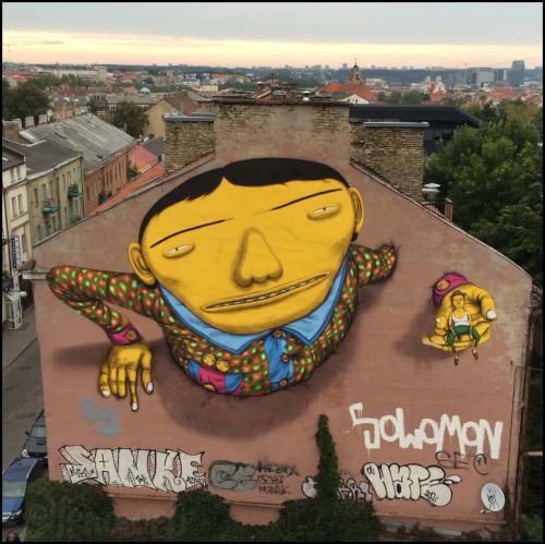 Quand le street art atteint des sommets