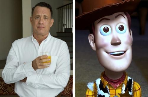 Les acteurs qui ont inspirés des personnages de dessins animés