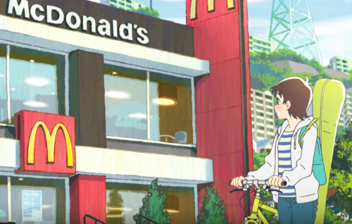 Au Japon Mc Donald crée des animés pour faire sa pub