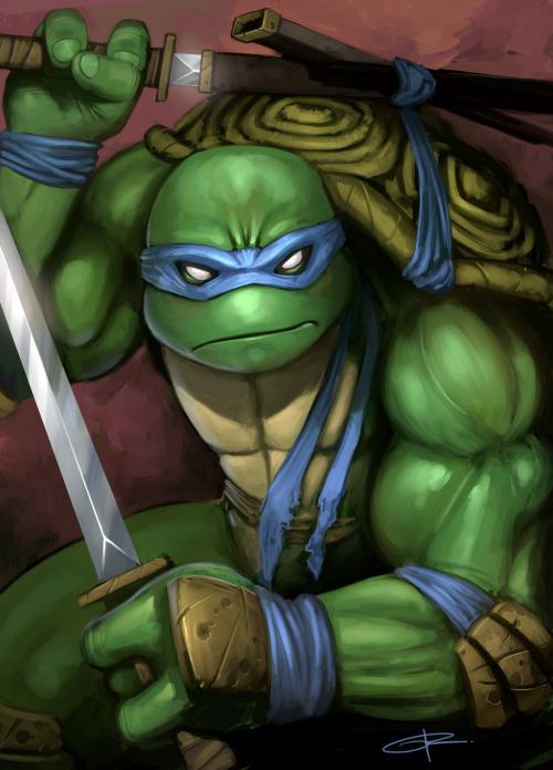 30 artwork dédiés aux Tortues Ninja